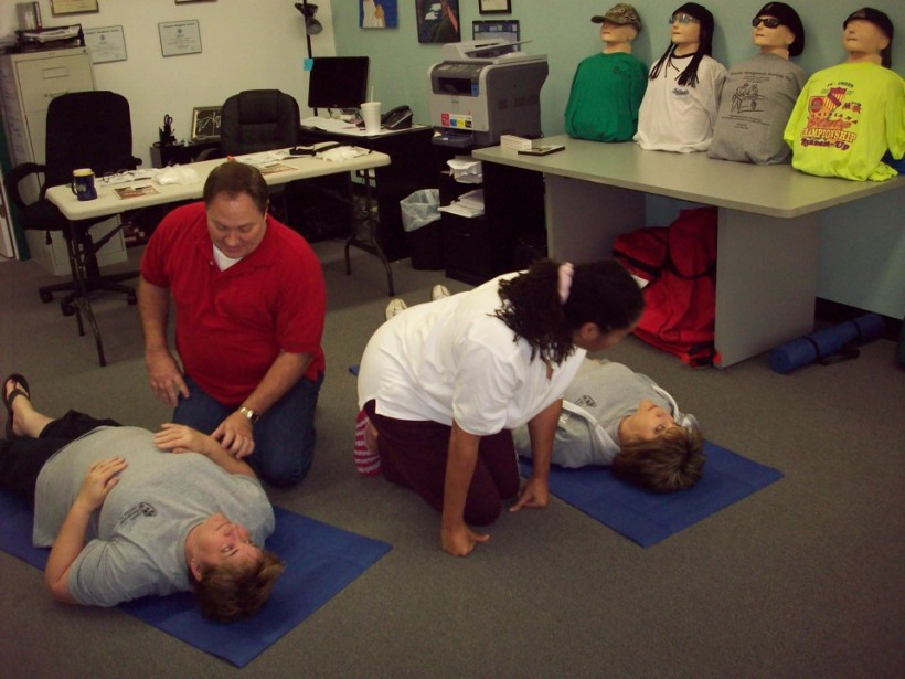 1st Aid & CPR training
