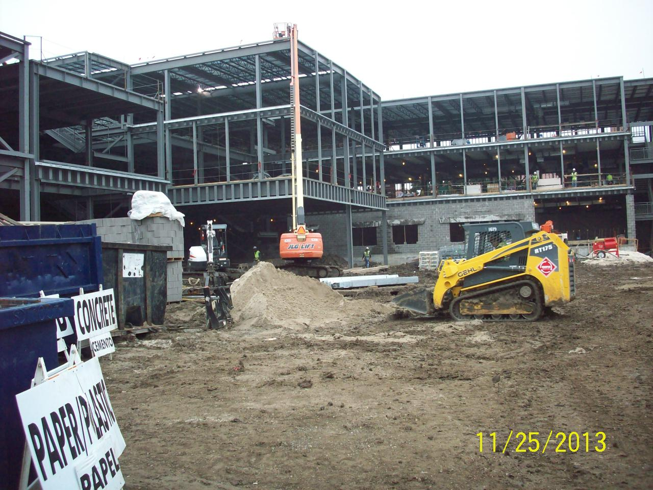 Fisk-Howard-Elementary-School-General-site-construction